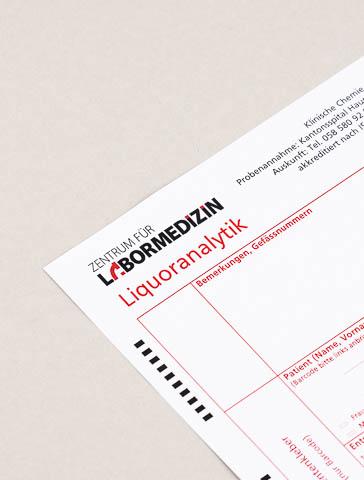 Formular: Liquoranalytik