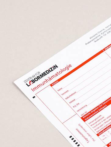Formular: Immunhämatologie